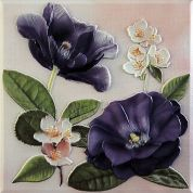 Violetta Morado Placa Decor